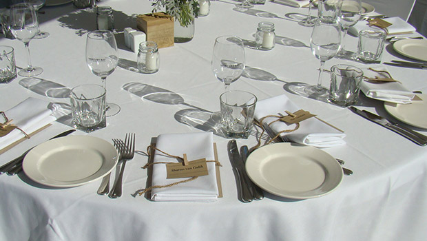 A Mercury Bay Wedding - Food